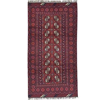 104x196 Afghan Akhche Rug