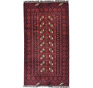 Link to 3' 4 x 6' Afghan Akhche Rug