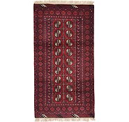 Link to Unique Loom 3' 3 x 6' 2 Afghan Akhche Rug