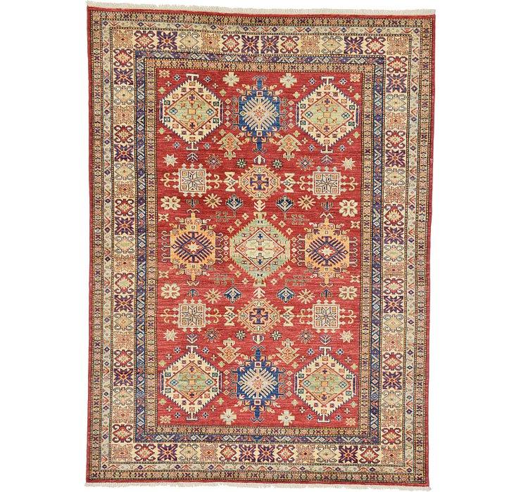 5' 10 x 8' Kazak Oriental Rug