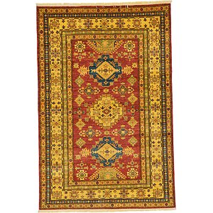 4' 8 x 7' Kazak Oriental Rug