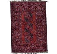 Link to 3' 7 x 5' Afghan Akhche Rug