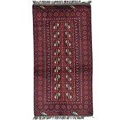 Link to 3' 3 x 6' 2 Afghan Akhche Rug