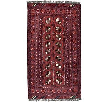 104x188 Afghan Akhche Rug