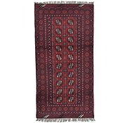 Link to 3' 3 x 6' 4 Afghan Akhche Rug