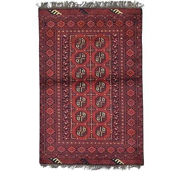 97x147 Afghan Akhche Rug
