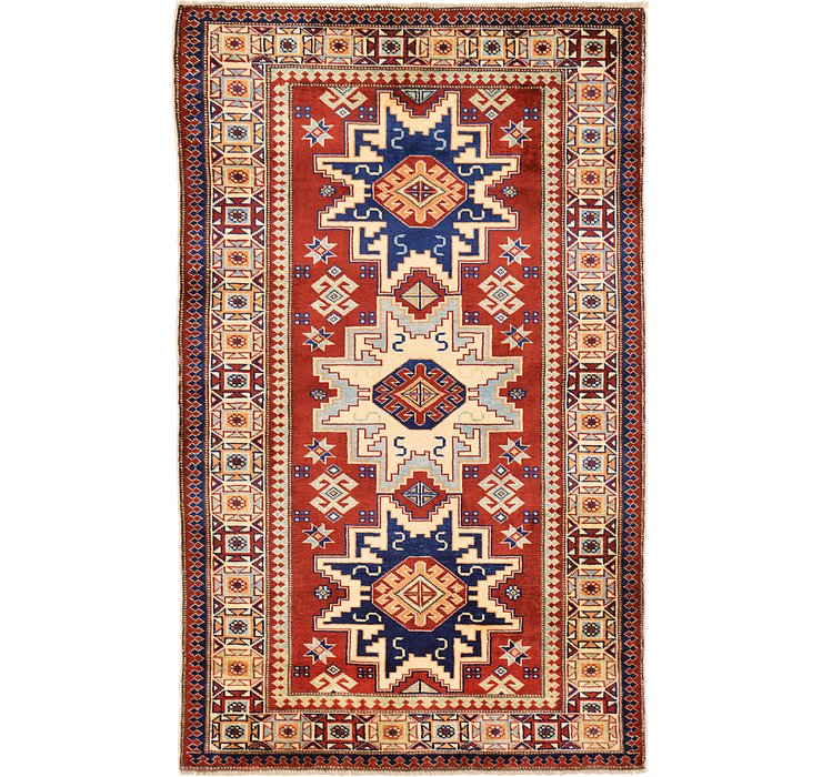3' 2 x 5' 2 Kazak Oriental Rug