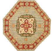 Link to 6' 5 x 6' 9 Kazak Oriental Octagon Rug