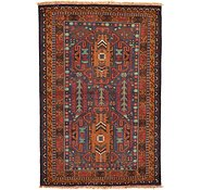 Link to 3' 4 x 5' Balouch Persian Rug