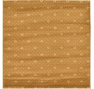 Link to 3' 3 x 3' 3 Reproduction Gabbeh Square Rug