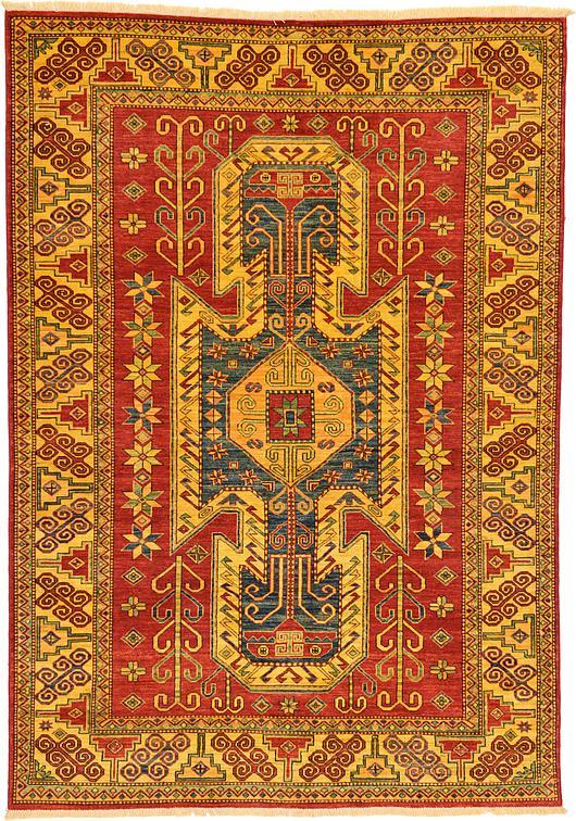 Red 5 10 X 8 3 Kazak Oriental Rug Oriental Rugs