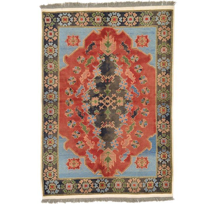 4' 10 x 7' Kazak Oriental Rug