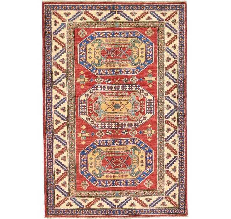 4' 2 x 6' 2 Kazak Oriental Rug