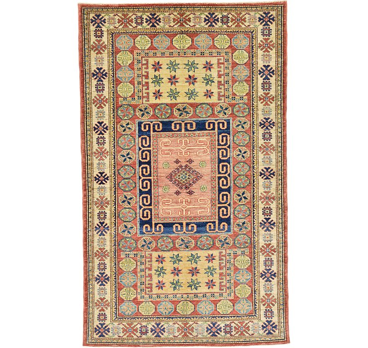4' x 6' 9 Kazak Oriental Rug