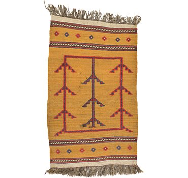 76x124 Kilim Afghan Rug