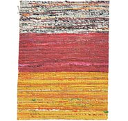 Link to 1' 4 x 1' 9 Kilim Dhurrie Square Rug