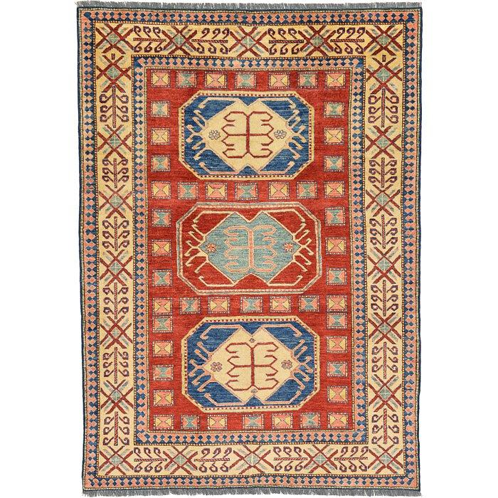 5' 8 x 8' Kazak Oriental Rug