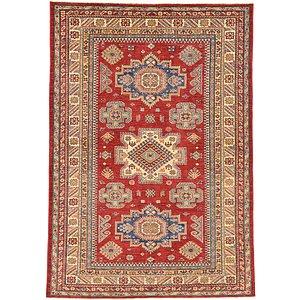 Unique Loom 5' 8 x 8' Kazak Oriental Rug