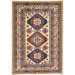 Unique Loom 5' 1 x 7' 2 Kazak Oriental Rug