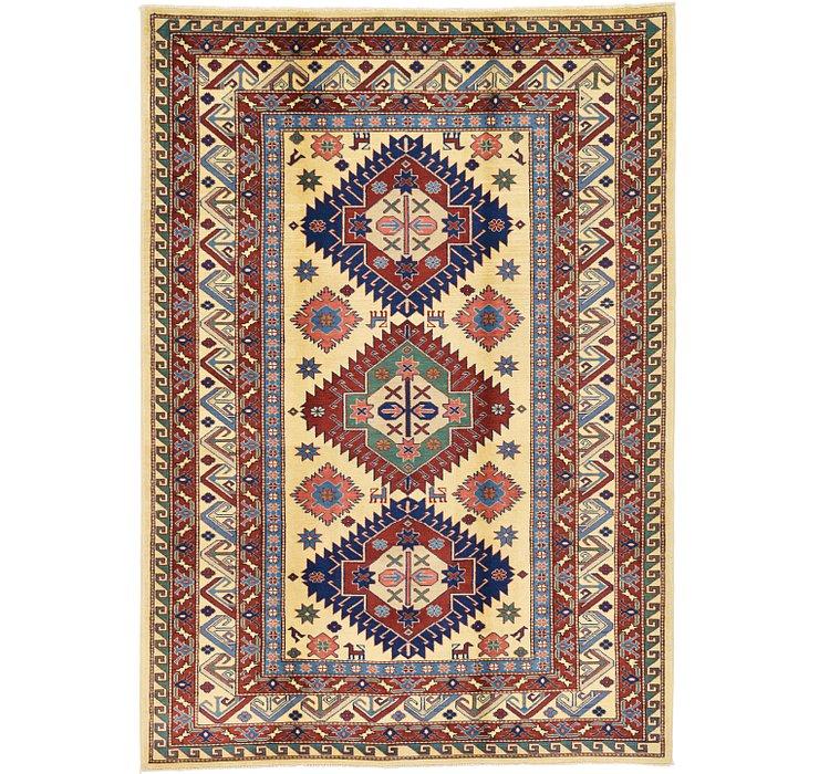 5' 1 x 7' 2 Kazak Oriental Rug