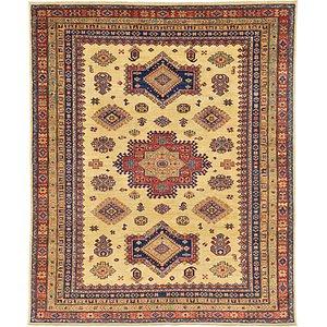 6' 5 x 7' 9 Kazak Oriental Rug