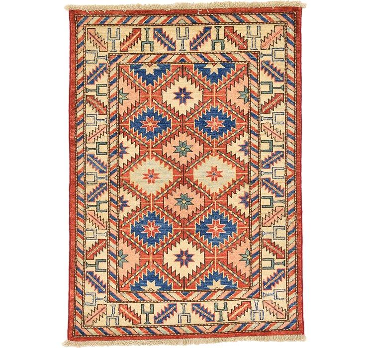 HandKnotted 2' 10 x 4' Kazak Oriental Rug