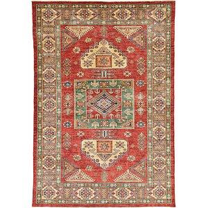 6' 3 x 9' Kazak Oriental Rug