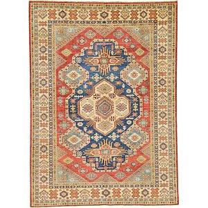 Unique Loom 5' 10 x 8' Kazak Oriental Rug