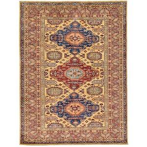 Unique Loom 6' x 7' 11 Kazak Oriental Rug
