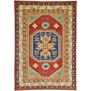 7' 4 x 10' 4 Kazak Oriental Rug