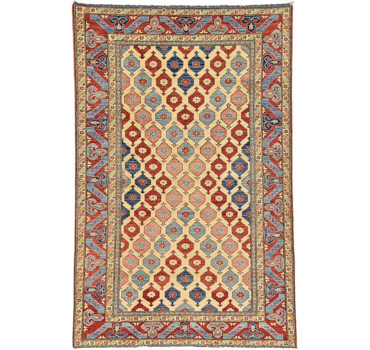 6' 6 x 9' 9 Kazak Oriental Rug