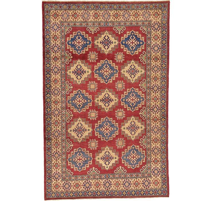 6' 2 x 9' 7 Kazak Oriental Rug