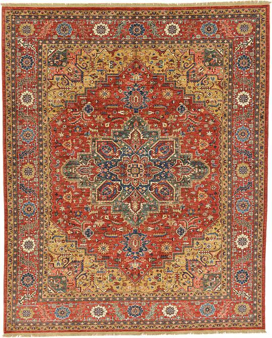 Oriental Rugs Uk: Red 10' X 12' 4 Ariana Ziegler Oriental Rug