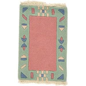 HandKnotted 1' 3 x 2' Indo Tibet Rug