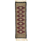 Link to 1' 1 x 3' 2 Bokhara Oriental Runner Rug