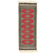 Link to 1' 3 x 3' 1 Bokhara Oriental Runner Rug