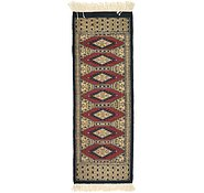 Link to 1' 1 x 3' 1 Bokhara Oriental Runner Rug