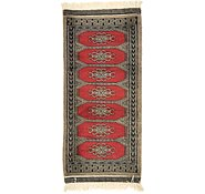 Link to 1' 4 x 2' 11 Bokhara Oriental Runner Rug
