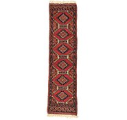 Link to 1' 1 x 3' 11 Bokhara Oriental Runner Rug