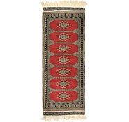 Link to 1' 3 x 3' 3 Bokhara Oriental Runner Rug