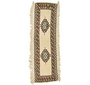 Link to 38cm x 127cm Bokhara Oriental Runner Rug