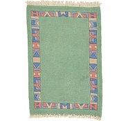 Link to 1' 11 x 2' 10 Indo Tibet Rug