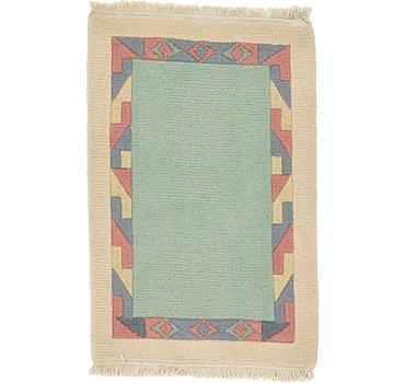 61x91 Indo Tibet Rug