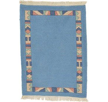 61x86 Indo Tibet Rug