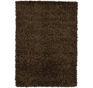 Link to 4' 8 x 6' 8 Solid Shag Rug