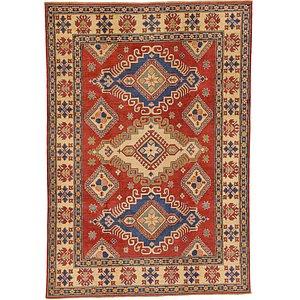 Unique Loom 6' 8 x 9' Kazak Oriental Rug