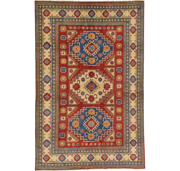 5' 11 x 9' Kazak Oriental Rug