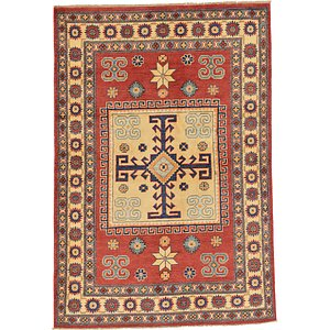 4x6 Orange Kazak  Rugs!