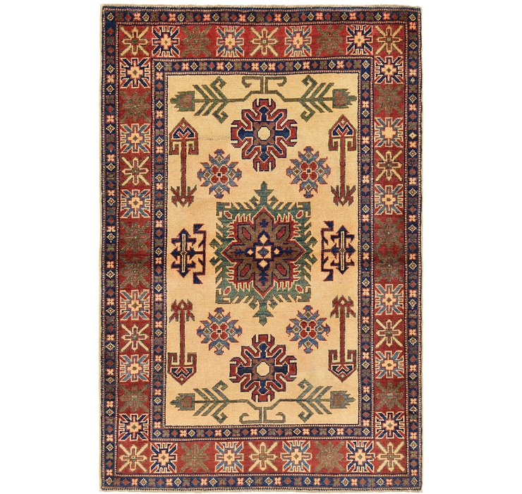 102cm x 152cm Kazak Oriental Rug