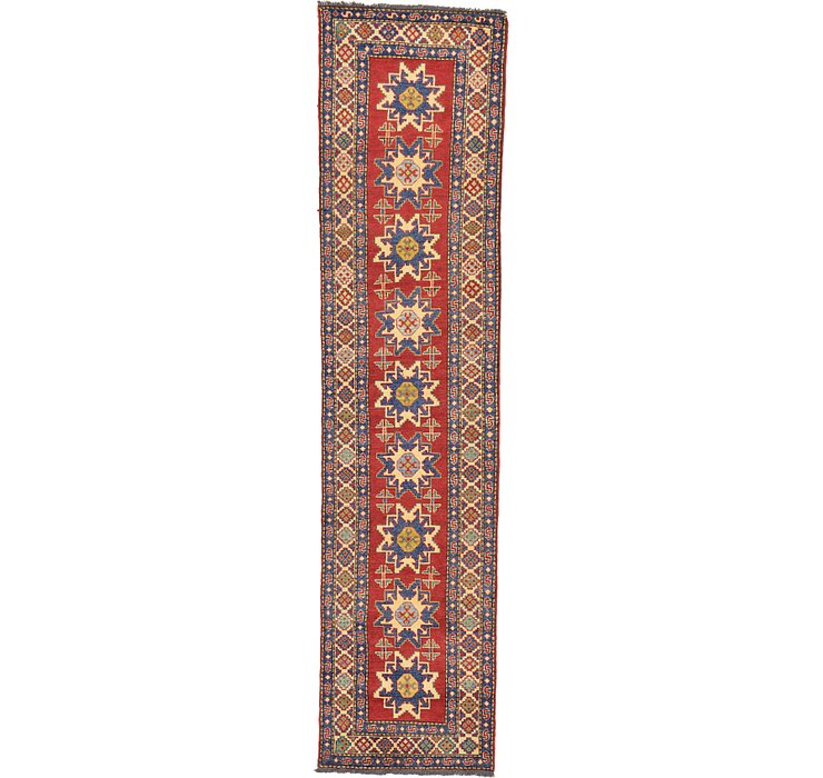 2' 8 x 11' 2 Kazak Oriental Runner Rug